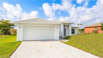 Lehigh Acres Single Family Home For Sale: 3915 8th St SW
