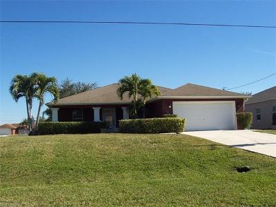 Cape Coral Single Family Home For Sale: 1229 NW 25th Pl