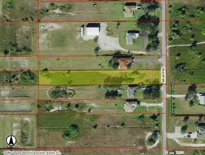 Naples Residential Lots & Land Pending With Contingencies: 4365 22nd St NE