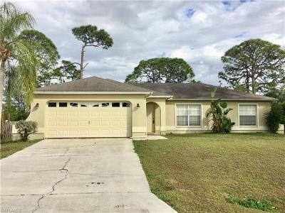 Fort Myers Single Family Home For Sale: 18233 Linden Rd