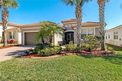Estero Single Family Home For Sale: 21669 Belvedere Ln