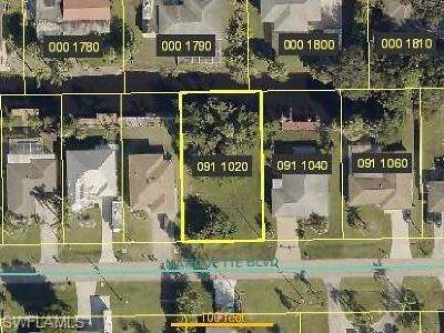 Fort Myers Residential Lots & Land For Sale: 13516 Marquette Blvd