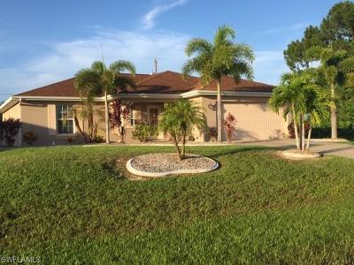 Cape Coral FL Single Family Home For Sale: $227,900