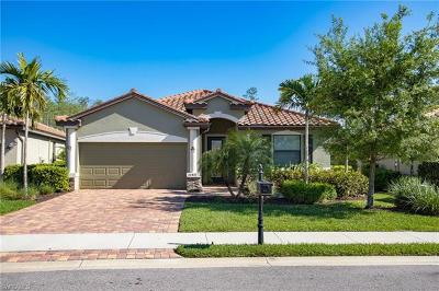 Estero Single Family Home For Sale: 20401 Cypress Shadows Blvd