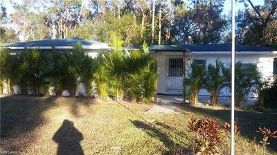 North Fort Myers Single Family Home For Sale: 2600 Harmony Ave