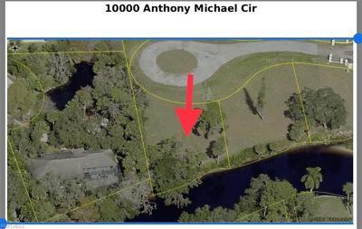 Bonita Springs Residential Lots & Land For Sale: 10000 Anthony Michael Cir