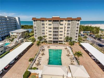 Fort Myers Beach Condo/Townhouse For Sale: 6900 Estero Blvd #701