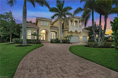 Naples Single Family Home For Sale: 701 Park Shore Dr
