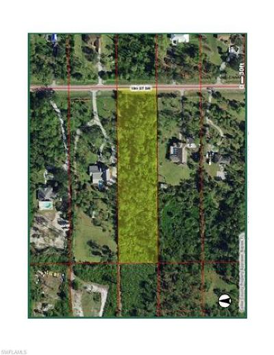 Naples Residential Lots & Land For Sale: 631 19th St SW