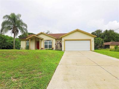 Lehigh Acres Single Family Home For Sale: 3004 E 5th St