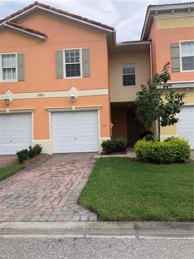 Fort Myers Single Family Home For Sale: 9801 Boraso Way #104
