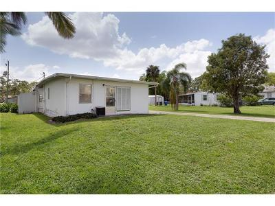 Fort Myers Single Family Home For Sale: 1932 And 1 Hill Ave