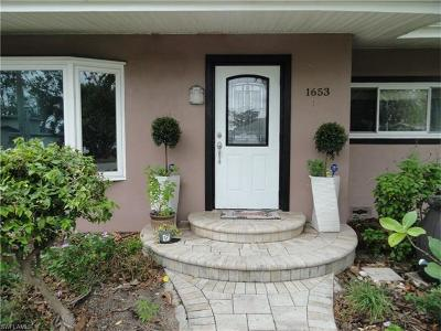 Fort Myers Single Family Home For Sale: 1653 Maravilla Ave