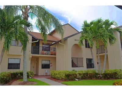Fort Myers Condo/Townhouse For Sale: 8411 Charter Club Cir #5
