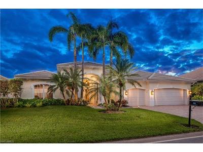 Bonita Springs Single Family Home For Sale: 3621 Sanctuary Lakes Dr