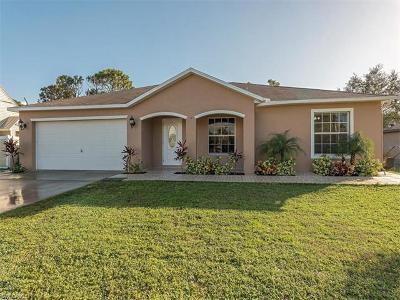 Fort Myers Single Family Home For Sale: 9124 Aster Rd