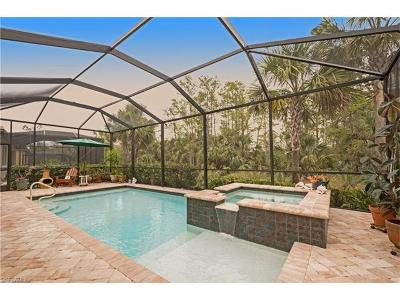 Naples Single Family Home For Sale: 4155 Raffia Dr