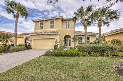 Fort Myers Single Family Home For Sale: 18241 Parkside Greens Dr