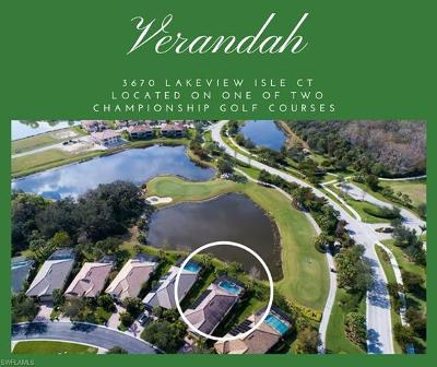 Fort Myers Single Family Home For Sale: 3670 Lakeview Isle Ct