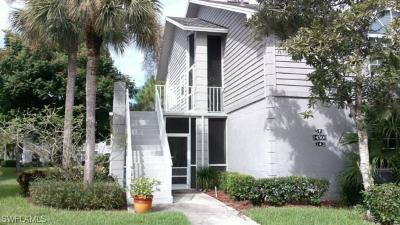 Fort Myers Condo/Townhouse For Sale: 14500 Summerlin Trace Ct #1