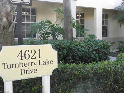 Estero Condo/Townhouse For Sale: 4621 Turnberry Lake Dr #103