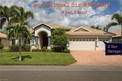 Bonita Springs Single Family Home For Sale: 10641 Sir Michaels Place Dr