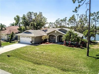 Fort Myers Single Family Home For Sale: 17272 Plantation Dr