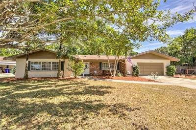 Fort Myers Single Family Home For Sale: 3949 W Riverside Dr