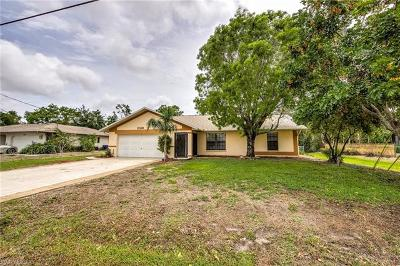 Fort Myers Single Family Home For Sale: 17525 Oriole Rd