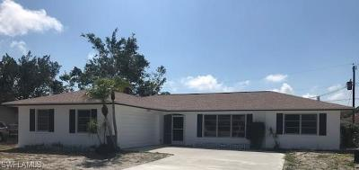 Fort Myers Single Family Home For Sale: 18246 Louise Dr
