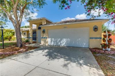 Fort Myers Single Family Home For Sale: 8365 Cardinal Rd