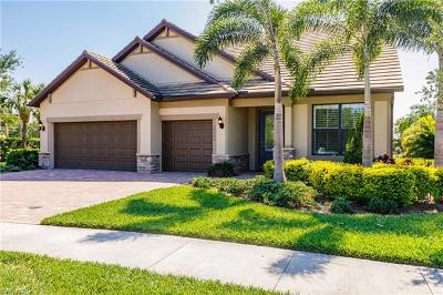 Fort Myers Single Family Home For Sale: 10600 Highgrove Pl