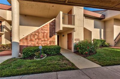 Fort Myers Condo/Townhouse For Sale: 14650 Eagle Ridge Dr #144