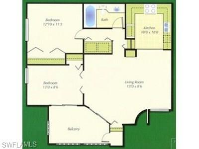 Estero FL Condo/Townhouse For Sale: $124,900