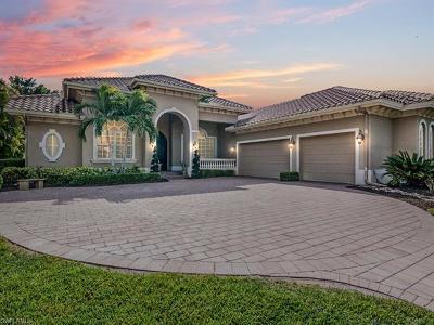 Miromar Lakes Single Family Home For Sale: 18590 Verona Lago Dr