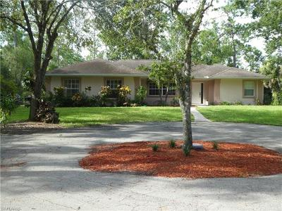 Naples Single Family Home For Sale: 4220 SW 1st Ave