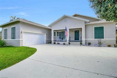 Fort Myers Single Family Home For Sale: 8840 Staghorn Way