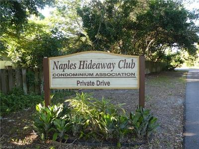 Naples Condo/Townhouse For Sale: 1155 Rosemary Ct #B-107