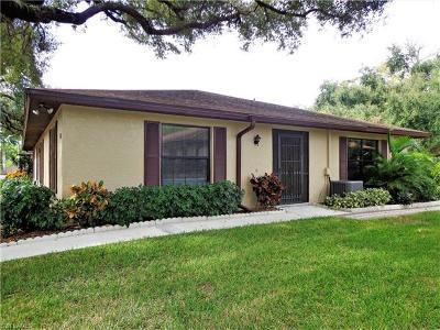 Bonita Springs Single Family Home For Sale: 10869 Leitner Creek Dr #132