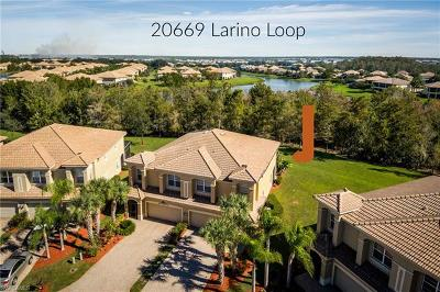 Estero Condo/Townhouse For Sale: 20669 Larino Loop