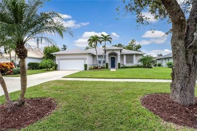 Naples Single Family Home For Sale: 3061 Orange Grove Trl