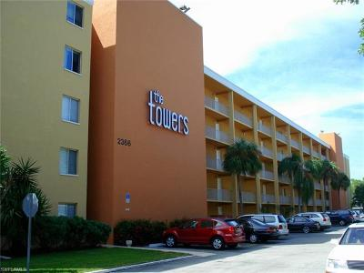 Fort Myers Condo/Townhouse For Sale: 2366 E Mall Dr #301