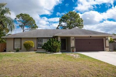 Fort Myers Single Family Home For Sale: 18237 Apple Rd