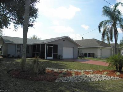 Fort Myers Single Family Home For Sale: 12419 River Rd