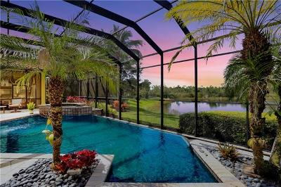 Bonita Springs Single Family Home For Sale: 24001 Tuscany Ct