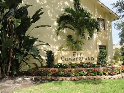 Fort Myers Condo/Townhouse For Sale: 7115 Lakeridge Ct #112