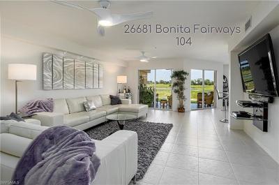 Bonita Springs Condo/Townhouse For Sale: 26681 Bonita Fairways Blvd #104