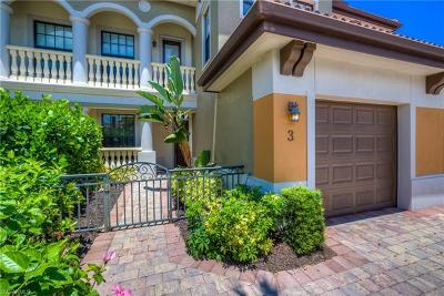 Naples Condo/Townhouse For Sale: 1267 Strada Milan Ln #3