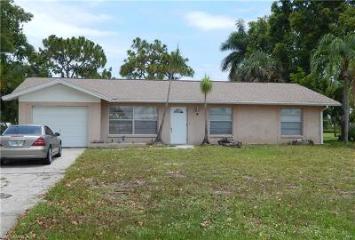 Fort Myers Single Family Home For Sale: 7328 Constitution Cir