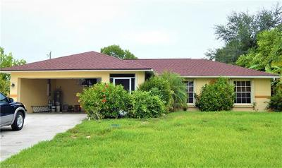 Fort Myers Single Family Home For Sale: 6701 Canton St